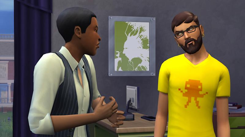"This undated publicity photo released by Electronic Arts/Maxis shows the video game, ""The Sims 4."" The fourth edition of Maxis' successful life-simulating game will include more expressive versions of the virtual people whose lives players can manipulate. (AP Photo/Electronic Arts/Maxis)"