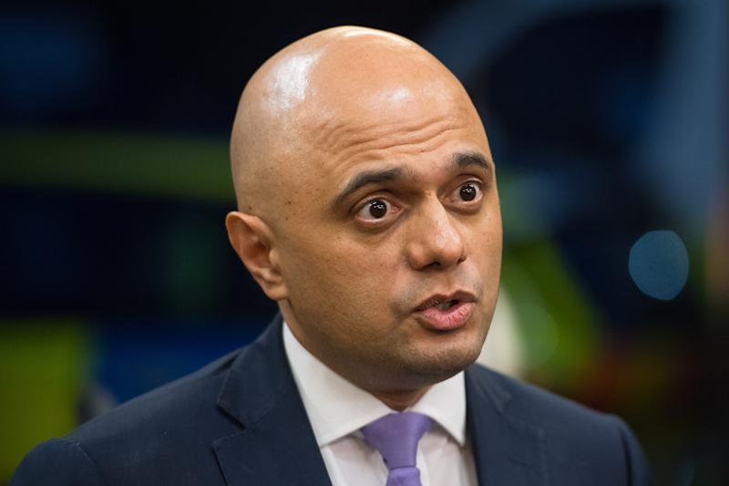 Embargoed to 0001 Monday July 22 File photo dated 28/03/19 of Home Secretary Sajid Javid who has been urged by a group of cross-party MPs and peers to sanction drug consumption rooms.