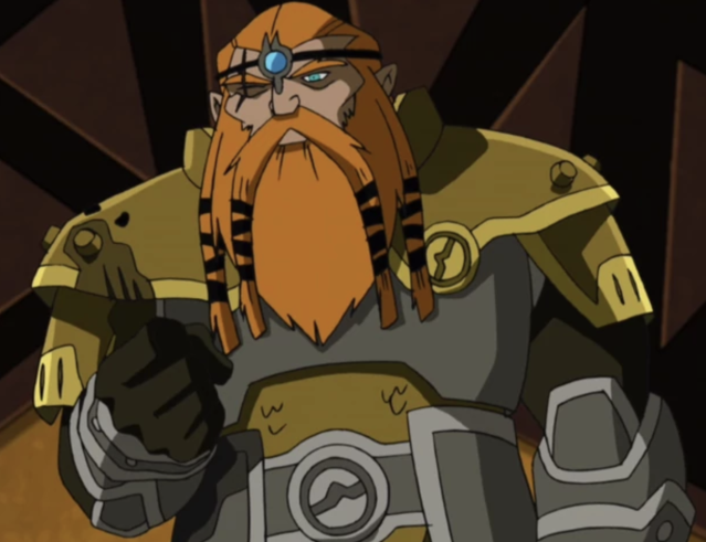 Eitri in <i>Avengers Earth's Mightiest Heroes</i> (Image: Disney)