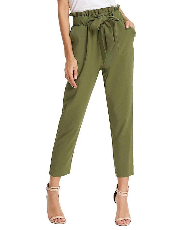 "<p>These <a href=""https://www.popsugar.com/buy/Grace-Karin-High-Waisted-Pants-555057?p_name=Grace%20Karin%20High-Waisted%20Pants&retailer=amazon.com&pid=555057&price=25&evar1=fab%3Auk&evar9=47291480&evar98=https%3A%2F%2Fwww.popsugar.com%2Ffashion%2Fphoto-gallery%2F47291480%2Fimage%2F47291747%2FGrace-Karin-High-Waisted-Pants&list1=shopping%2Camazon%2Cspring%20fashion%2Cfashion%20shopping&prop13=api&pdata=1"" rel=""nofollow"" data-shoppable-link=""1"" target=""_blank"" class=""ga-track"" data-ga-category=""Related"" data-ga-label=""https://www.amazon.com/GRACE-KARIN-Trouser-Cropped-Pockets/dp/B07L49MX43/ref=zg_bs_7147440011_21?_encoding=UTF8&amp;psc=1&amp;refRID=ZPMJTQ37VV84WKBRKF5M"" data-ga-action=""In-Line Links"">Grace Karin High-Waisted Pants</a> ($25) are currently the top-selling style on the site. They come in lots of colors.</p>"