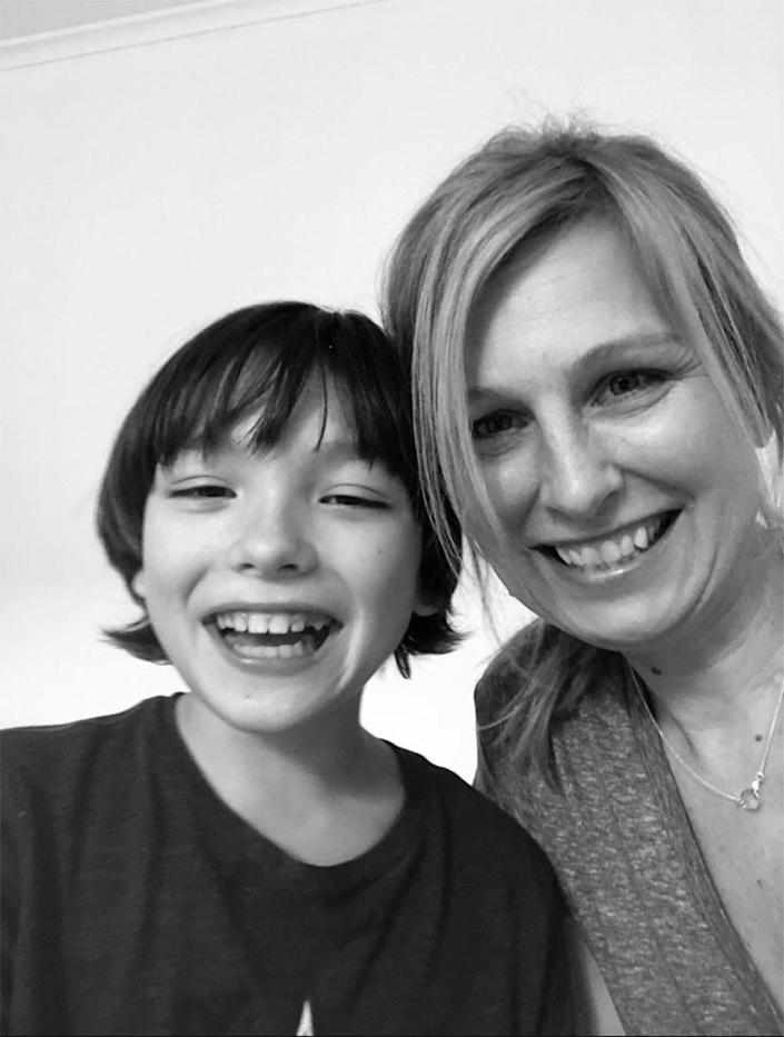 IMAGE: Mary Hartwell and her son Jack (Courtesy Mary Harwell)