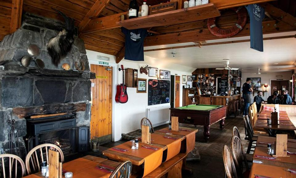Inside the Old Forge.