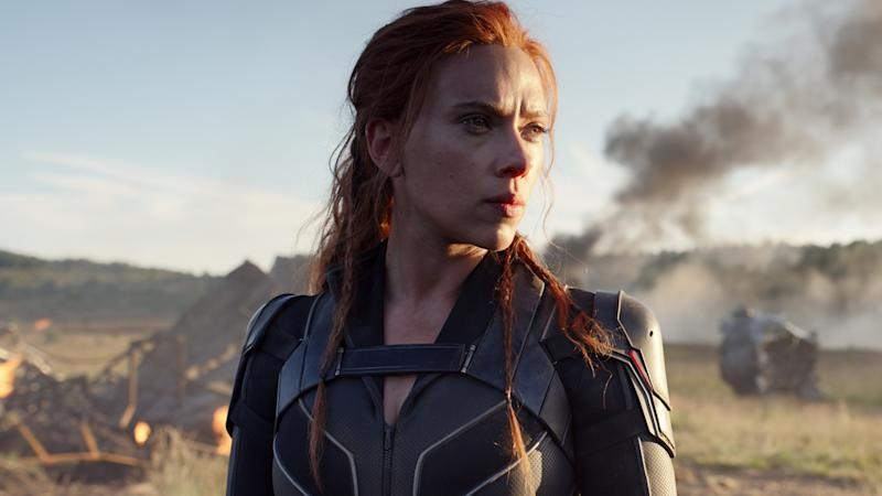 Scarlett Johansson in Black Widow