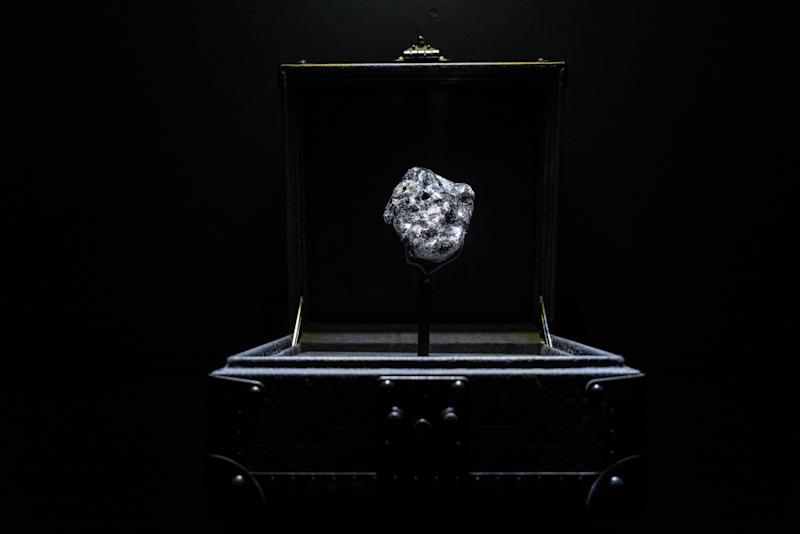 The Sewelô diamond. (PHOTO: Louis Vuitton)