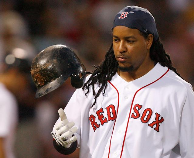Manny Ramirez is still optimistic about this Hall of Fame chances. (Photo by Jim Rogash/Getty Images)