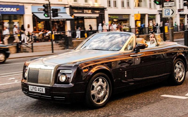 Rolls Royce Phantom Coupe - Credit: Central News
