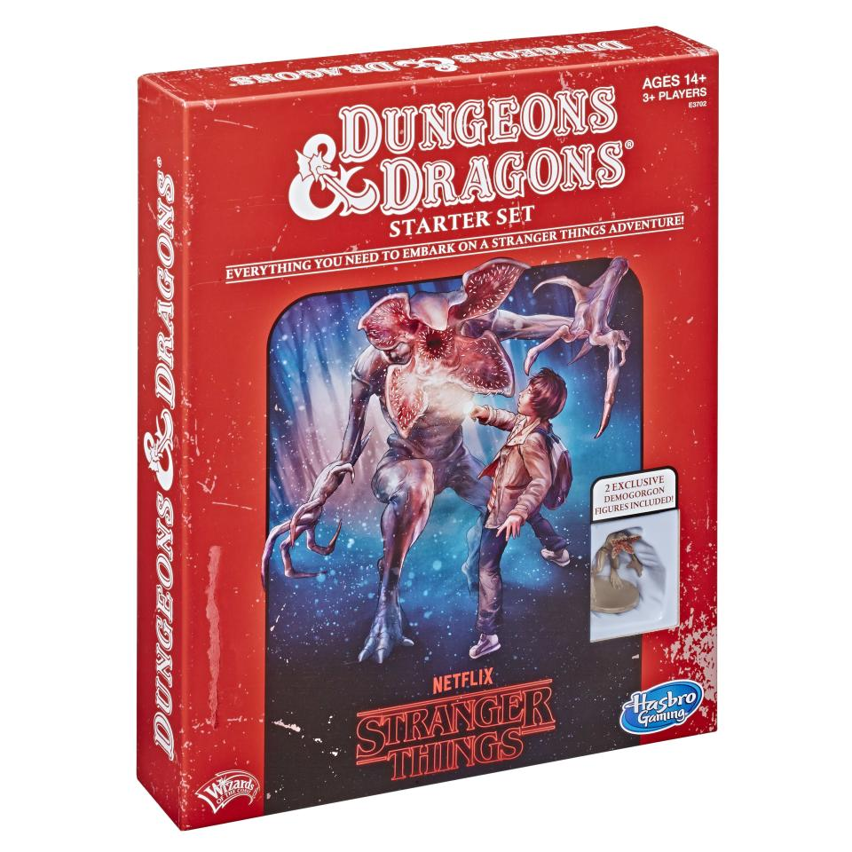 Coolest '80s game ever: a <i>Stranger Things</i> version of <i>Dungeons & Dragons</i>. (Photo: Hasbro)