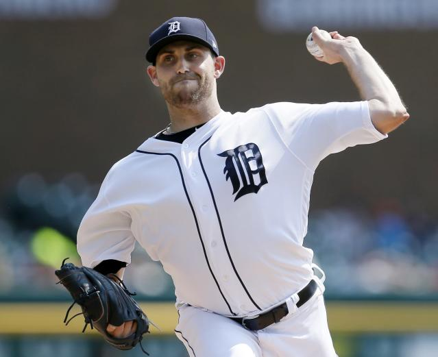 Tigers pitcher Matthew Boyd nearly threw a no-hitter on Sunday. (Photo by Duane Burleson/Getty Images)