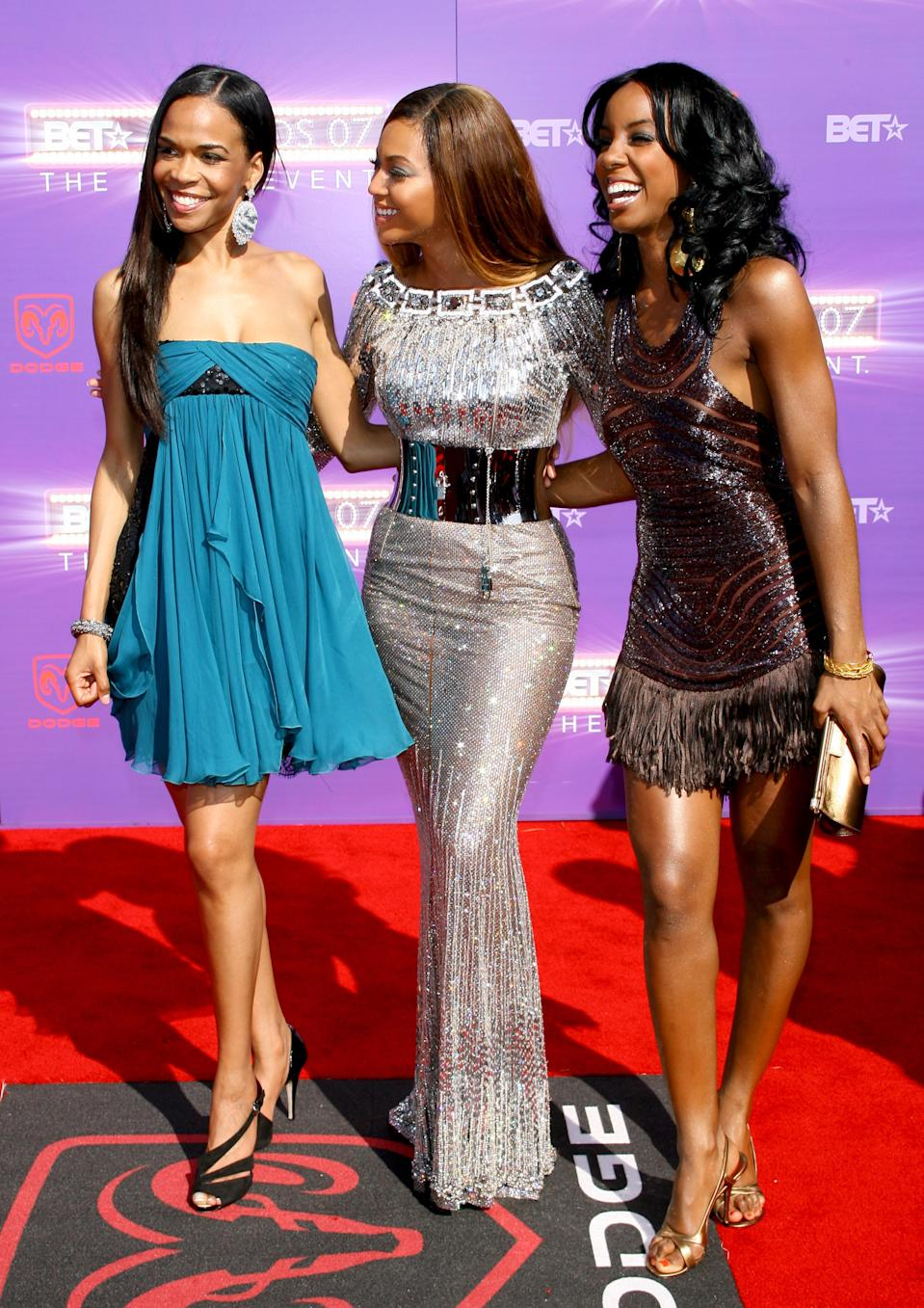 Michelle Williams, Beyonce and Kelly Rowland of Destiny's Child (Photo by M. Tran/FilmMagic)