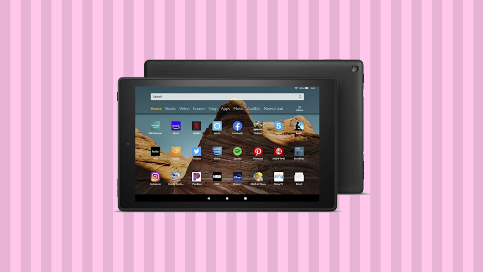 Save 33 percent on this Fire HD 10 tablet. (Photo: Amazon)