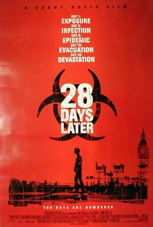 """<p>This movie basically <em>begins</em> with a full frontal nude scene, when Cillian Murphy's character wakes up completely naked in a hospital bed and realizes that much of society has been infected by an insane virus. But honestly, <em>28 Days Later</em> is so terrifying that you'll forget all about the jaw-dropping nudity by the time it's over. </p><p><a class=""""link rapid-noclick-resp"""" href=""""https://www.amazon.com/28-Days-Later-Cillian-Murphy/dp/B00C4QLIJK?tag=syn-yahoo-20&ascsubtag=%5Bartid%7C10063.g.22564723%5Bsrc%7Cyahoo-us"""" rel=""""nofollow noopener"""" target=""""_blank"""" data-ylk=""""slk:STREAM NOW"""">STREAM NOW</a></p>"""