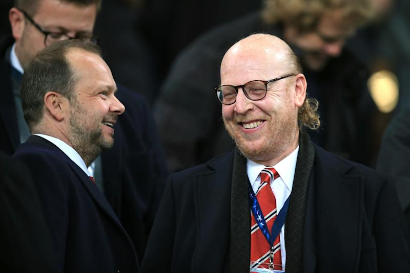 Ed Woodward and Avram Glazer