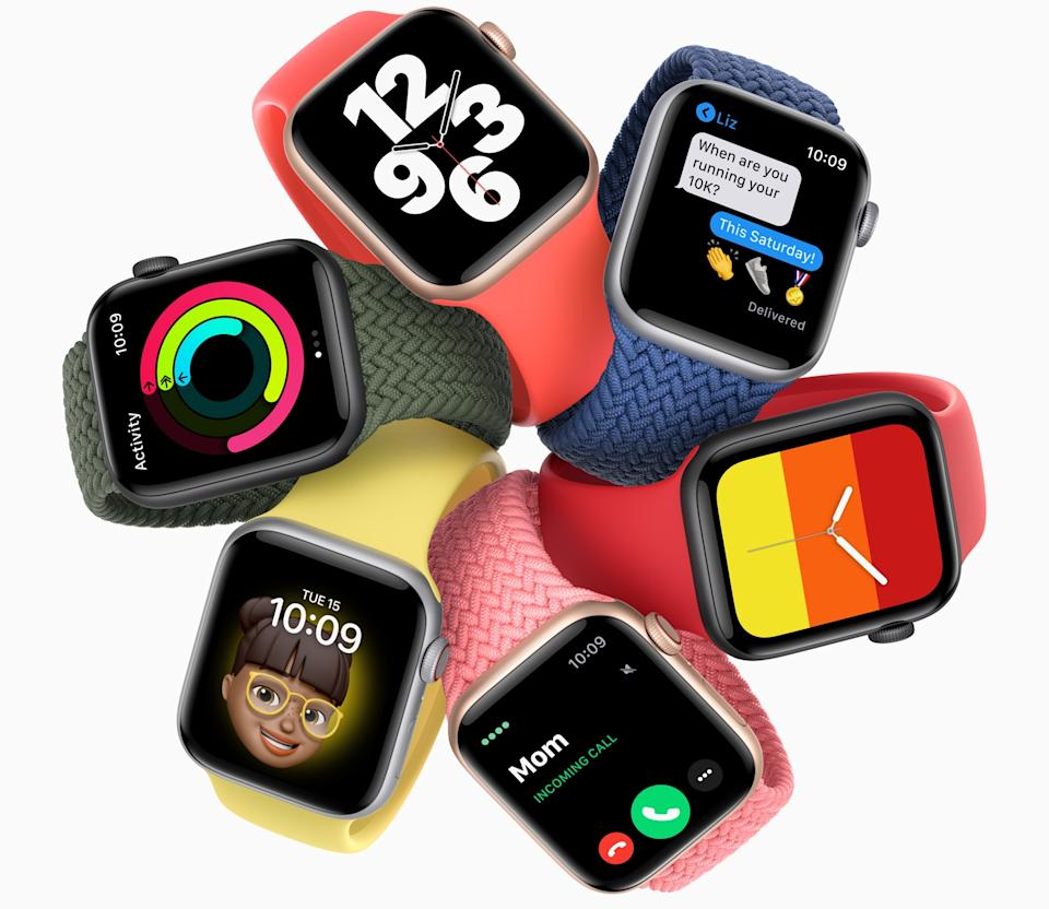 The Apple Watch SE is a great way to stay in touch and in shape throughout your hot vax summer. (Image: Apple)