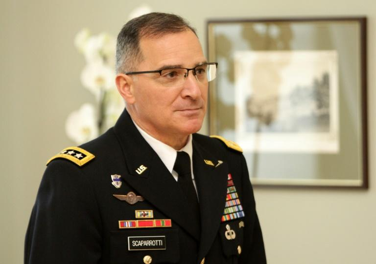 "US Army General Curtis Scaparrotti, upreme Allied Commander in Europe of NATO Allied Command Operations, said ""I personally believe we need to consider lethal defensive weapons for Ukraine"""