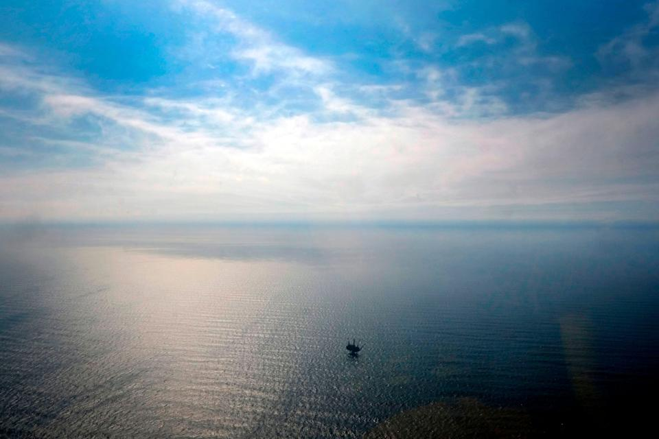 <p>UK's North Sea oil and gas plan is 'not ambitious enough', says CCC chair</p> (AFP/Getty)