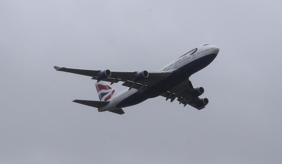 British Airways owner IAG shares were up as much as 11% on Thursday. Photo: PA