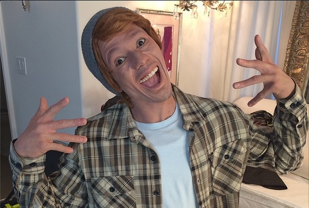 Nick Cannon Wears Whiteface, Calls Himself 'Connor Smallnut' for 'White People Party Music' (Video)