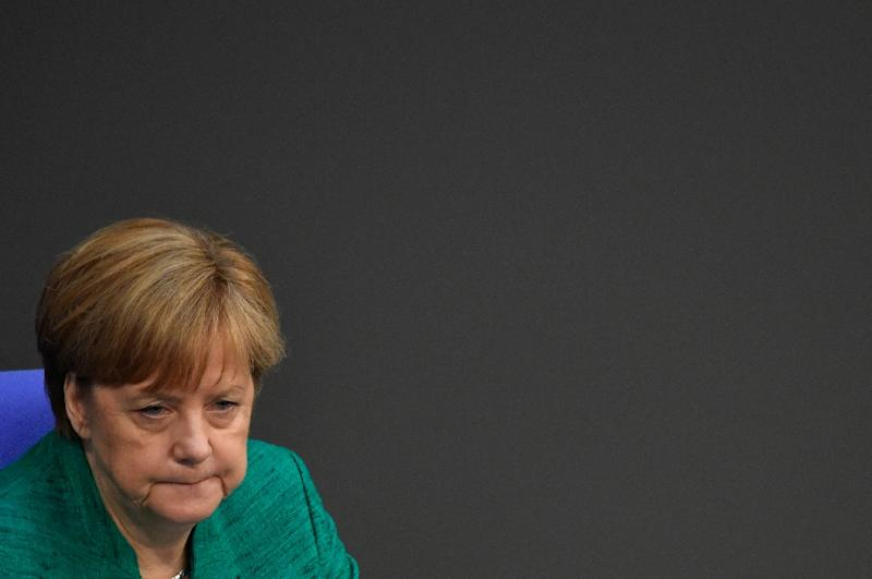 Germany's Angela Merkel faces off with allies over migration