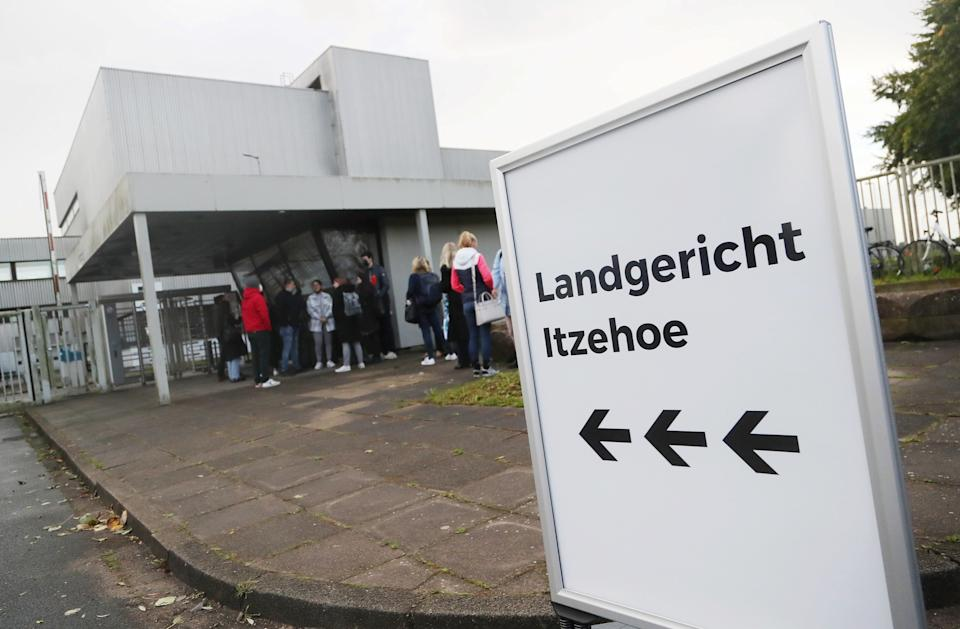 Irmgard Furchner is accused of having served as a secretary at the Stutthof concentration.