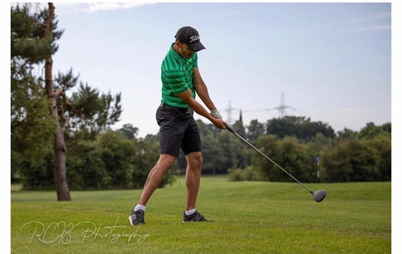 Nigeria international Odemwingie is trying his hand at a pro golf career