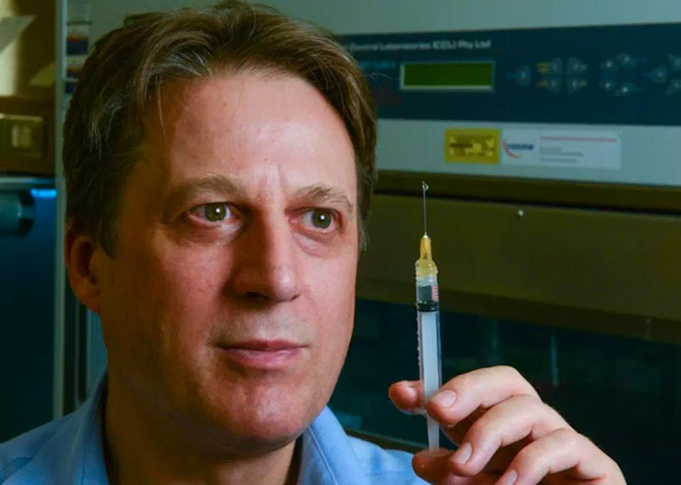Professor Nikolai Petrovsky says the federal government were warned about complications that would ensue during the rollout. Source: Supplied