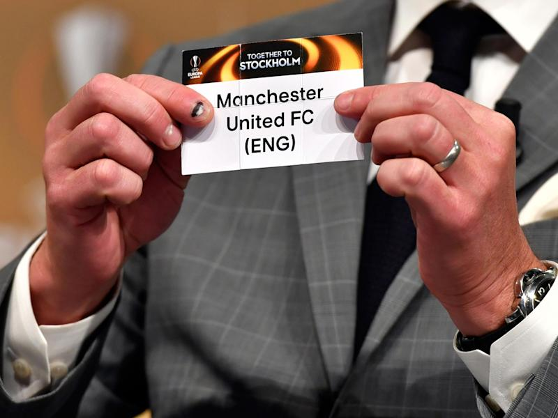 Man United were drawn against La Liga opposition: Getty