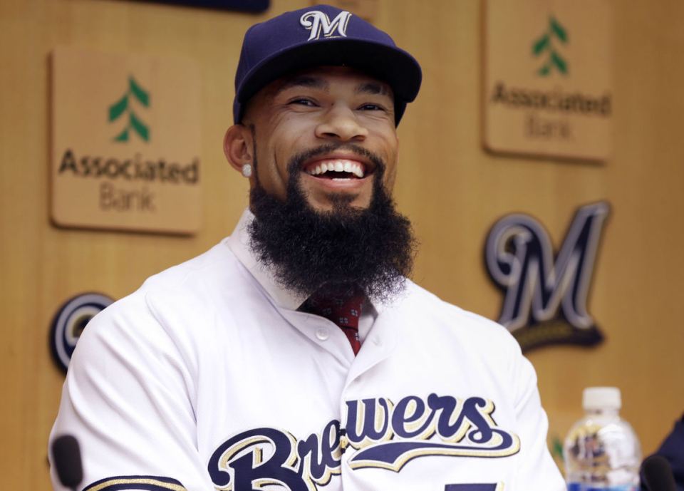 After a monster run overseas, what is Eric Thames poised to do?