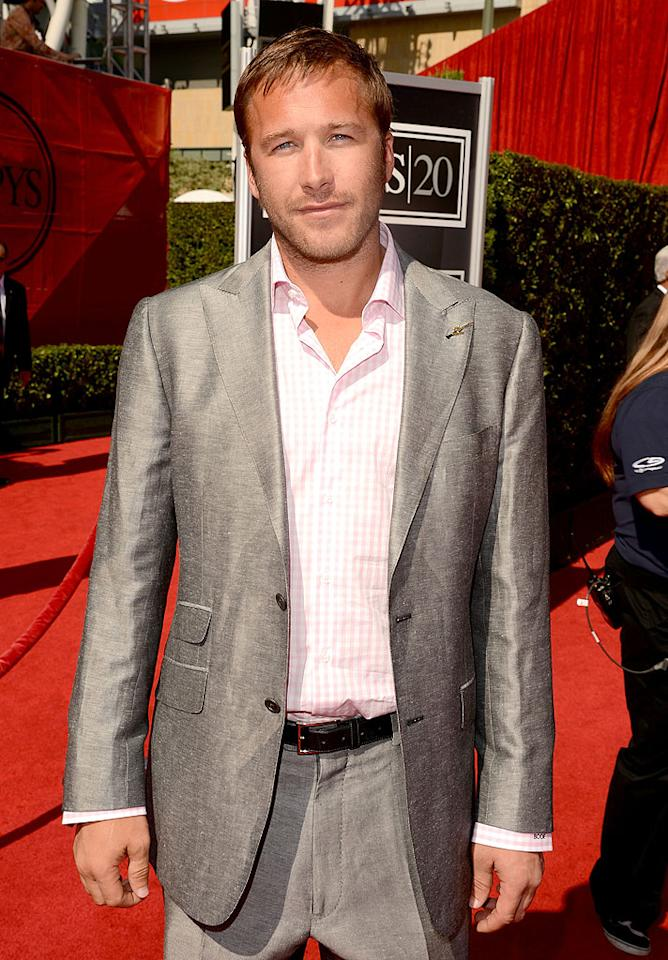 Olympic skier Bodie Miller arrives at the 2012 ESPY Awards.