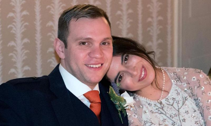 Matthew Hedges and Daniela Tejada
