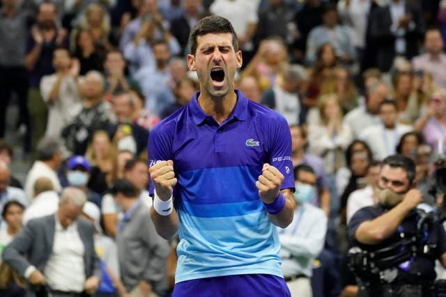Novak Djokovic shows what victory means