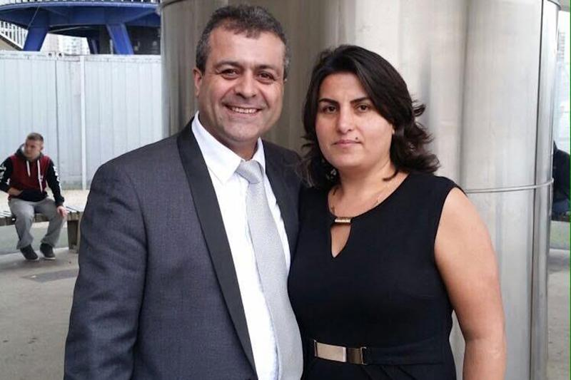 Victim: Huseyin Gulbudak and his wife Sebiha Gulbudak: Facebook