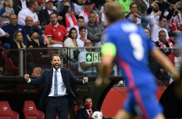 Gareth Southgate saw his side draw 1-1 with Poland last time out