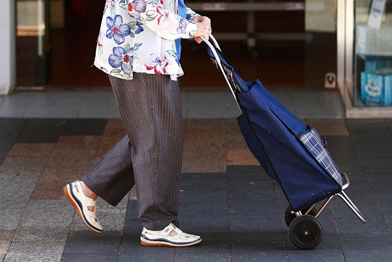 Elderly and disabled shoppers will have access to items before regular shoppers. Source: Getty