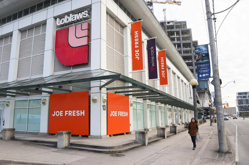 TORONTO, ON - OCTOBER 17 - Loblaws on Queen's Quay, October 17, 2017. Loblaws is cutting 500 jobs in order to contain costs, according to an internal memo obtained by the Star. (Andrew Francis Wallace/Toronto Star via Getty Images)