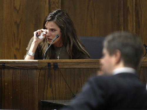 """Taya Kyle posted to Facebook on Wednesday: """"Chris, you are the love of my life. I hope we all live lives that make you proud."""" (Tom Fox/AP)"""
