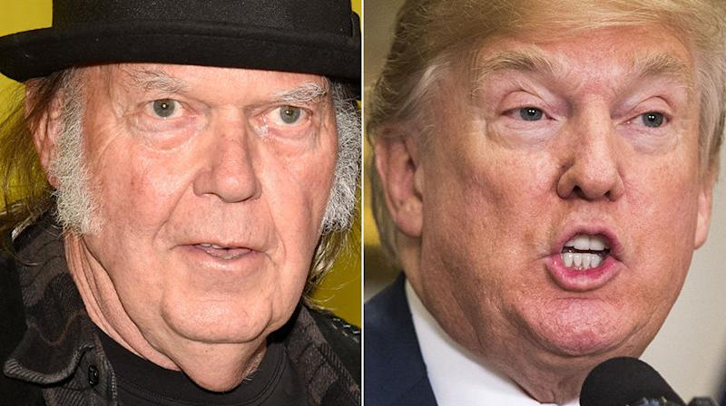 Rock Legend Neil Young Scorches 'So-Called President' Trump Over Wildfires
