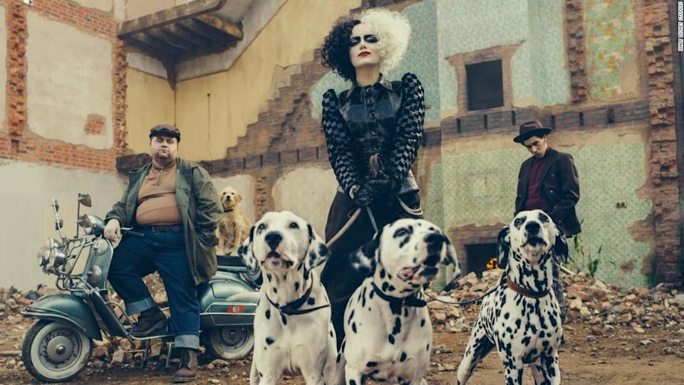 """<p><strong>Release Date:</strong> May 28, 2021</p><p>Emma Stone takes on the role of the infamous Disney villain in a film that explains how Cruella de Vil became Dalmatian obsessed to begin with. It takes place in London in the 1970s, so expect some outrageous Cruella fashions.</p><p><a class=""""link rapid-noclick-resp"""" href=""""https://www.youtube.com/watch?v=gmRKv7n2If8"""" rel=""""nofollow noopener"""" target=""""_blank"""" data-ylk=""""slk:WATCH TRAILER"""">WATCH TRAILER</a></p>"""