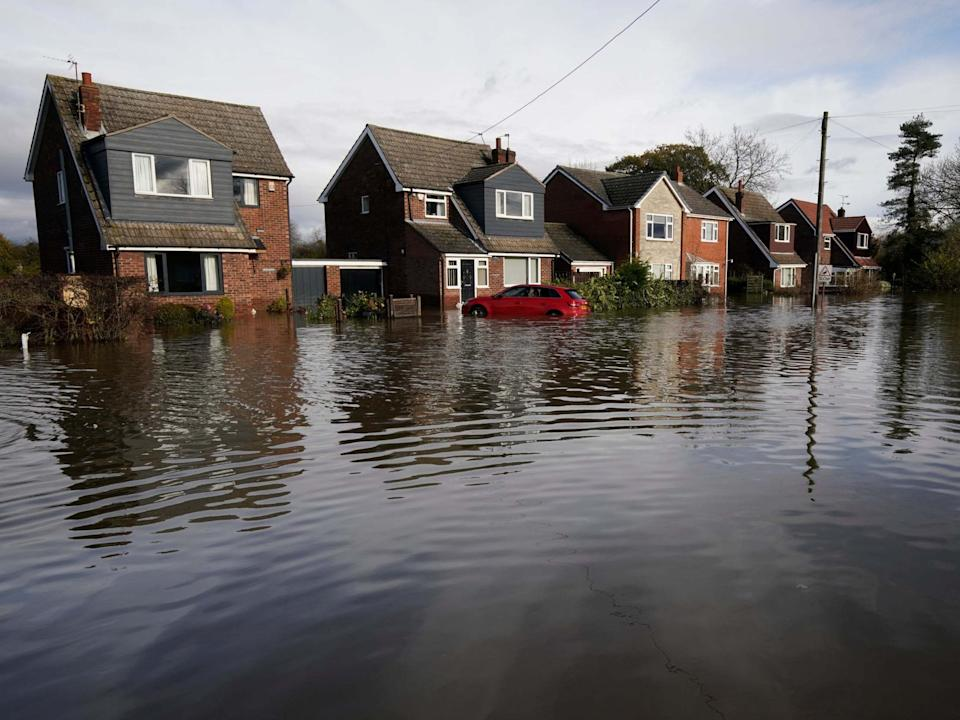 It could take weeks to clear the water from Fishlake, Doncaster Council has warned: Getty Images