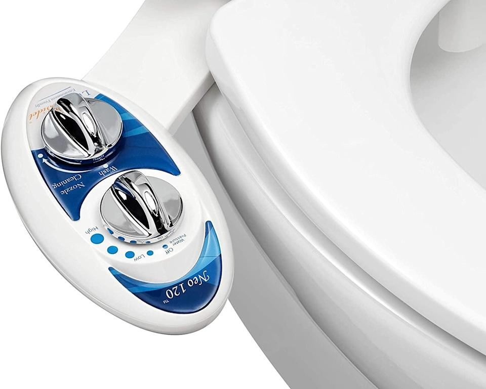 <p>Keep your tushy clean and reduce your paper waste with this <span>Luxe Bidet Neo 120 - Self Cleaning Nozzle</span> ($40).</p>