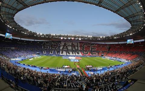 stade de france, paris - Credit: Getty