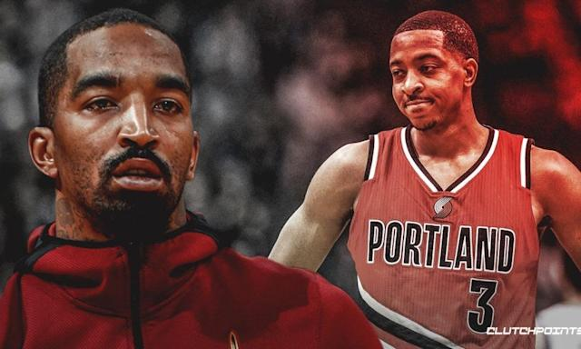 Video: JR Smith gets back at Blazers' CJ McCollum for travelling during pickup game