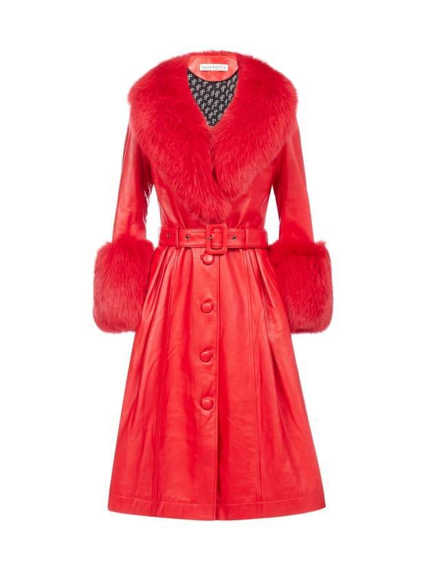 "<p>Saks Potts Fox-Fur Trimmed Lambskin Coat, $1,747, <a href=""https://rstyle.me/+mpPbuOtYizpo0v7RiTmX5A"" rel=""nofollow noopener"" target=""_blank"" data-ylk=""slk:available here"" class=""link rapid-noclick-resp"">available here</a>. </p>"