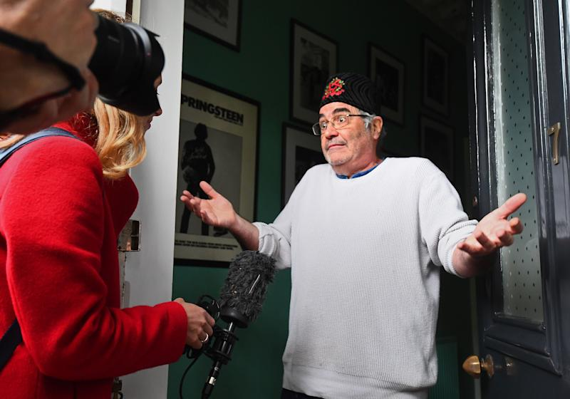 Danny Baker issues apology for Royal baby tweet