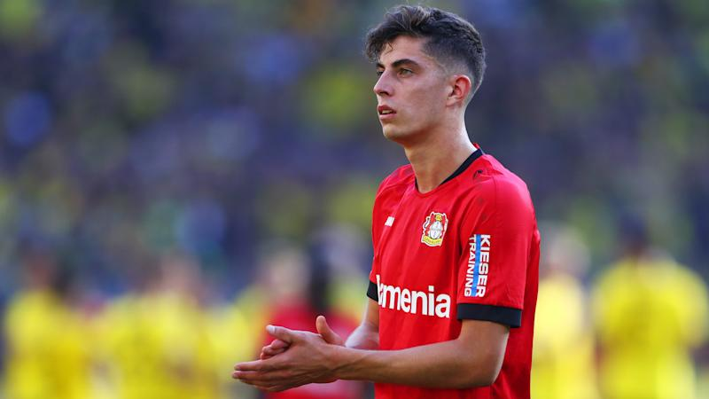 Chelsea-linked Havertz 'not thinking too much' about summer transfer, says Leverkusen manager Bosz