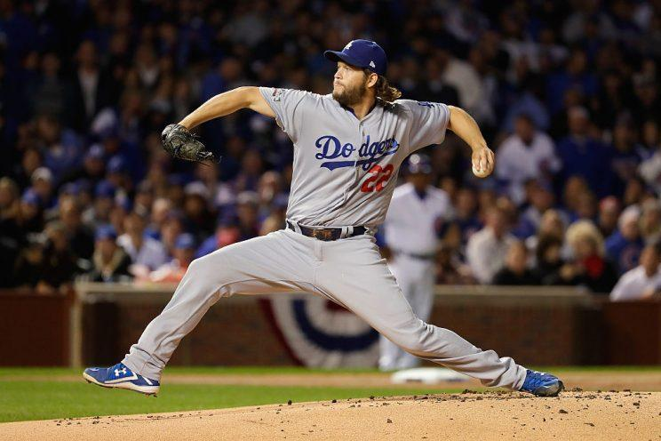 Clayton Kershaw will start his seventh straight opening day for the Dodgers. (Getty Images)
