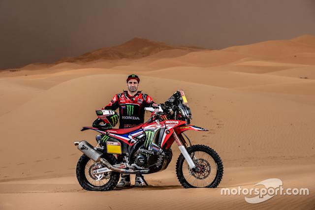 "Paulo Gonçalves, Monster Energy Honda Team <span class=""copyright"">Monster Energy</span>"