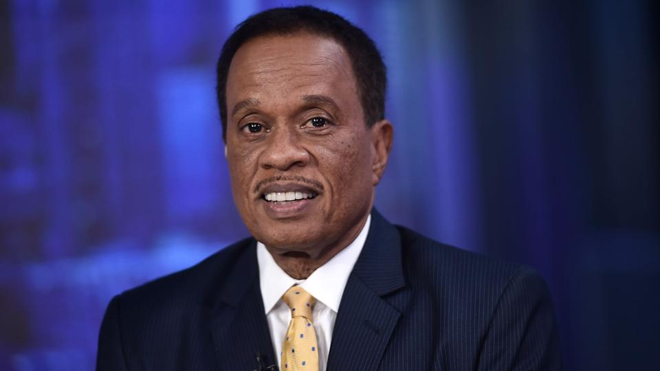 Juan Williams blasted Donald Trump's mishandling of the coronavirus pandemic. (Photo: Steven Ferdman via Getty Images)