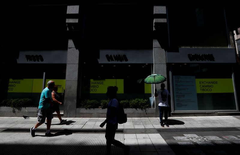 Argentina's 'little trees' blossom as forex controls fuel black market