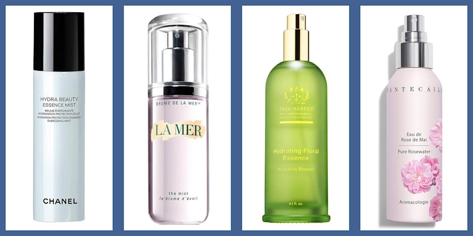 """<p>An oft overlooked area of <a href=""""https://www.townandcountrymag.com/style/beauty-products/g25908398/best-skincare-products/"""" rel=""""nofollow noopener"""" target=""""_blank"""" data-ylk=""""slk:skincare"""" class=""""link rapid-noclick-resp"""">skincare</a> (but no less important) is the face mist. Not quite an <a href=""""https://www.townandcountrymag.com/style/beauty-products/g26961326/best-chemical-peel-at-home/"""" rel=""""nofollow noopener"""" target=""""_blank"""" data-ylk=""""slk:exfoliating toner"""" class=""""link rapid-noclick-resp"""">exfoliating toner</a>, nor a simple H2O, the hydrating mist can serve a number of functions in one's daily routine, from taking down redness and irritation, calming breakouts, brightening the complexion during the day—or just plain improving the skin's hydration and moisture levels. But with so many on the market, where should you turn? Here, a few of our favorite face mists, whether your skin is oily, sensitive, or dry and dehydrated.</p>"""