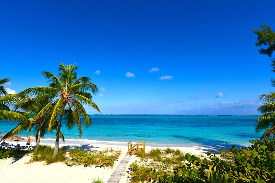 <p>The Turks and Caicos Islands are home to some of the world's most awe-inspiring beaches and Grace Bay is a favourite for travel experts. <em>[Photo: Getty]</em> </p>